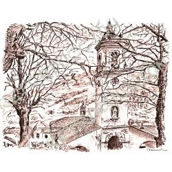La Iglesia del pueblo (Taramundi)