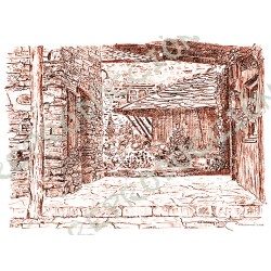 La Rectoral, entrada (Taramundi)