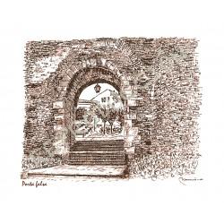 Porta Falsa. Muralla de Lugo.