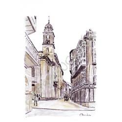 Por Lugo: Calle de San Pedro