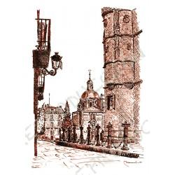 Por la calle de los tres coños.  Salamanca