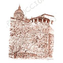 Muralla, Huerto de Calisto y Melibea. Salamanca.