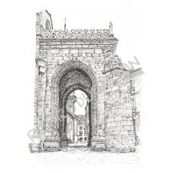 Catedral, a rúa do Bó Xesús